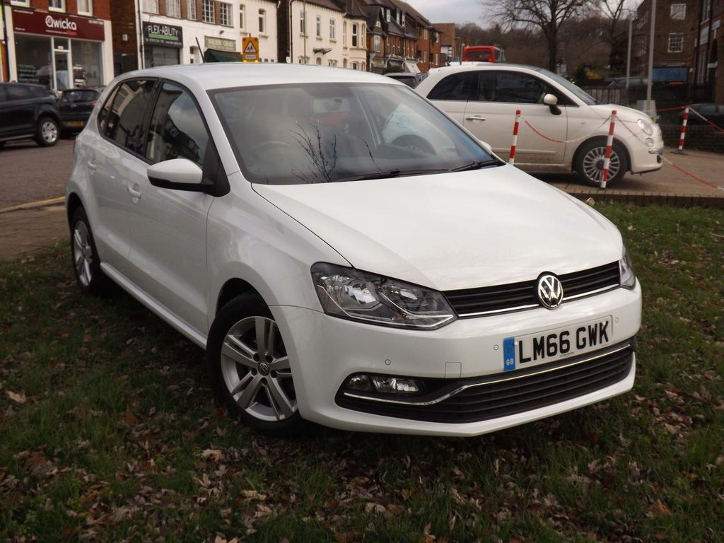 Used Volkswagen Polo Hatchback 1 2 Tsi Bluemotion Tech Match Dsg S S 5dr In Mill Hill Borough Of Barnet Le Car Centre