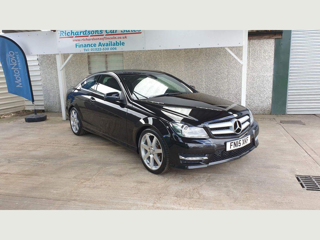 Mercedes-Benz C Class Coupe 2.1 C250 CDI AMG Sport Edition (Premium) 7G-Tronic Plus 2dr