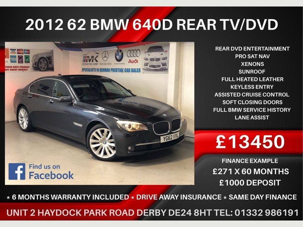 BMW 7 Series Saloon 3.0 740d 4dr