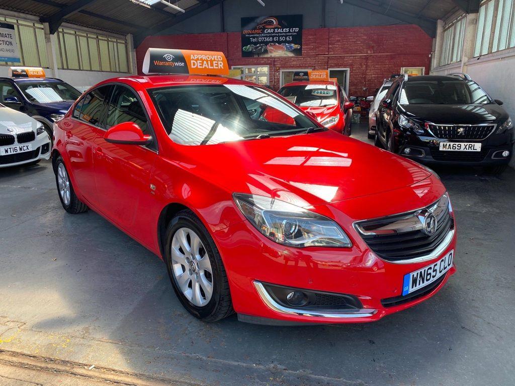 Vauxhall Insignia Hatchback 1.4i Turbo SRi Nav (s/s) 5dr