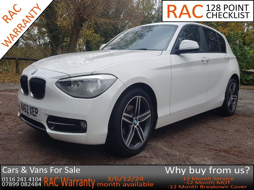 BMW 1 Series Hatchback 1.6 114i Sport Sports Hatch (s/s) 5dr