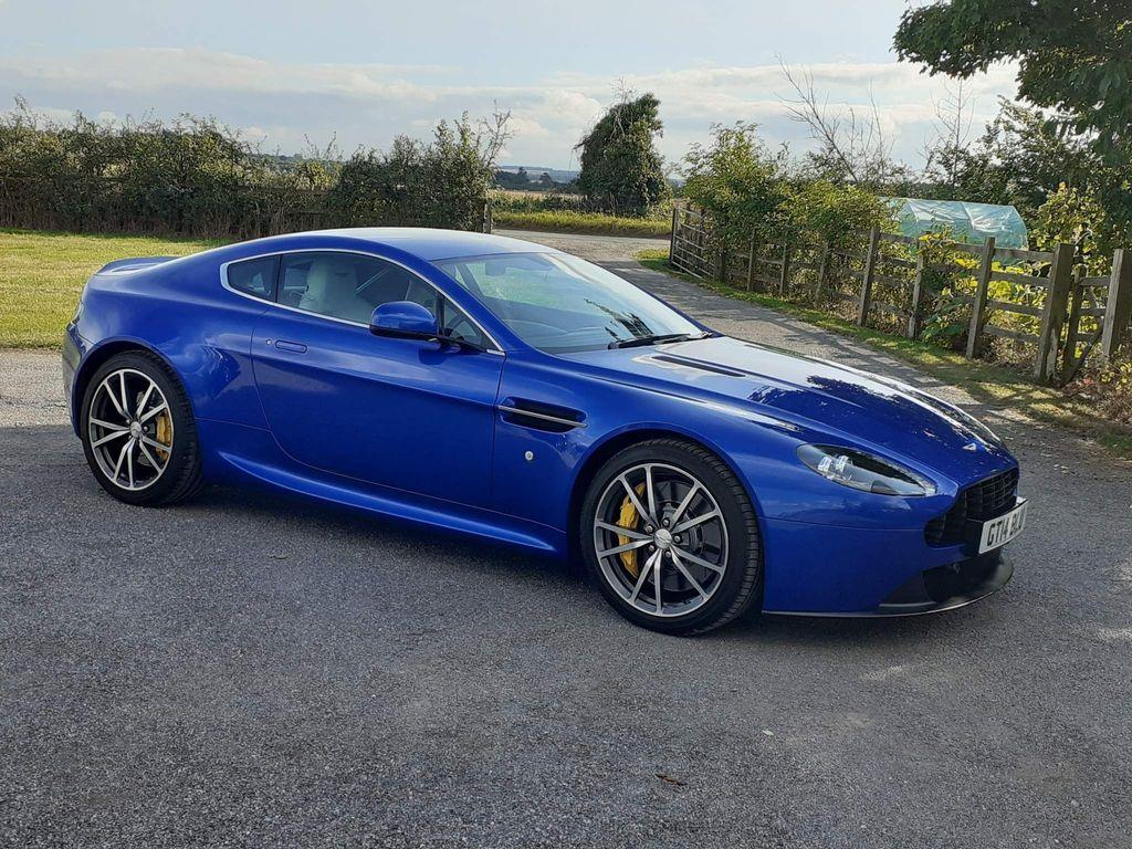 Aston Martin Vantage Coupe 4.7 V8 Sportshift II 2dr (EU5)
