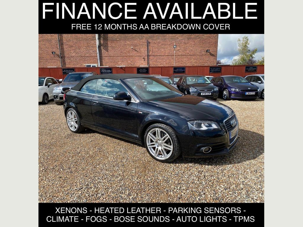 Audi A3 Cabriolet Convertible 2.0 TFSI S line 2dr