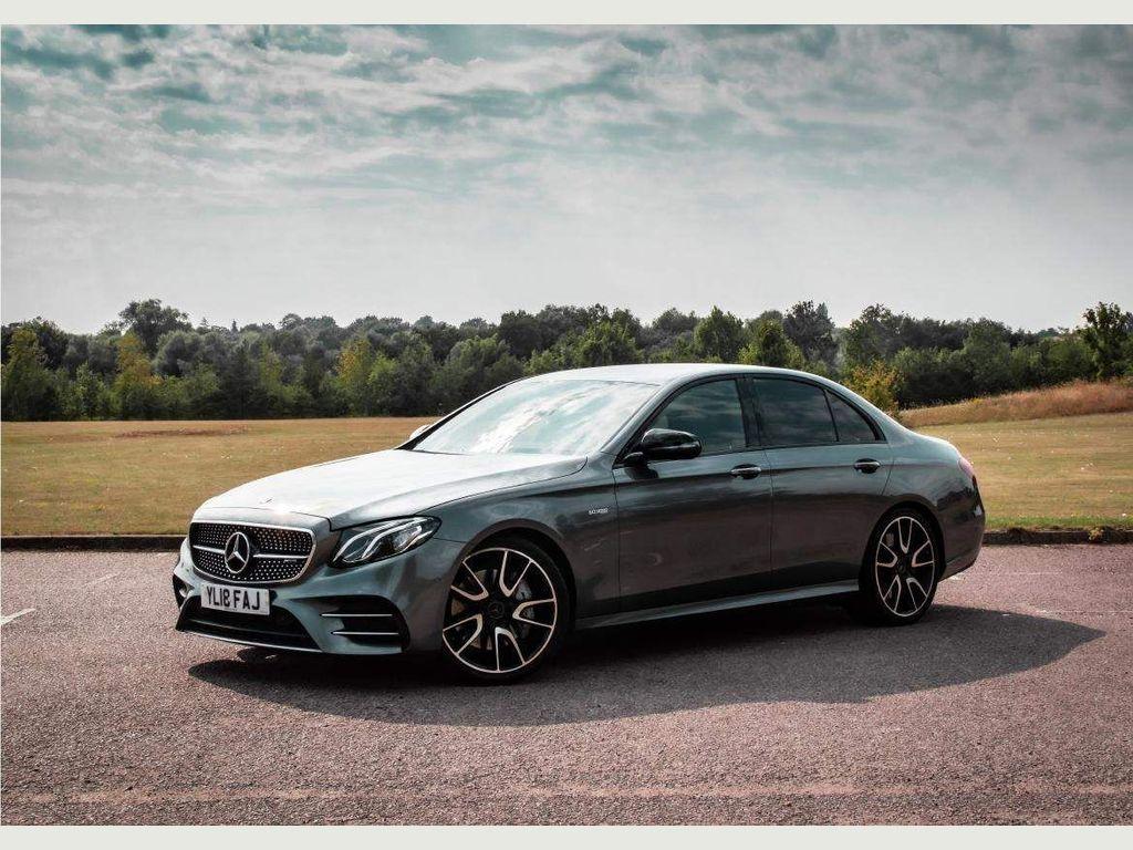 Mercedes-Benz E Class Saloon 3.0 E43 V6 AMG G-Tronic+ 4MATIC (s/s) 4dr