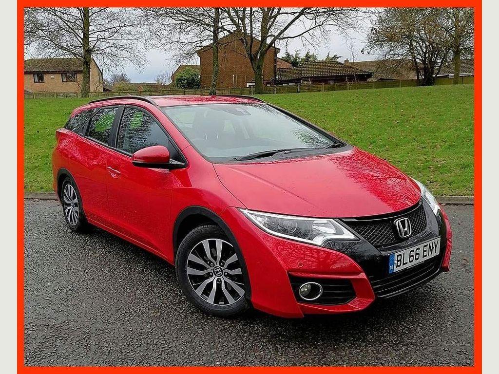 Honda Civic Estate 1.6 i-DTEC SE Plus (Navi) Tourer (s/s) 5dr