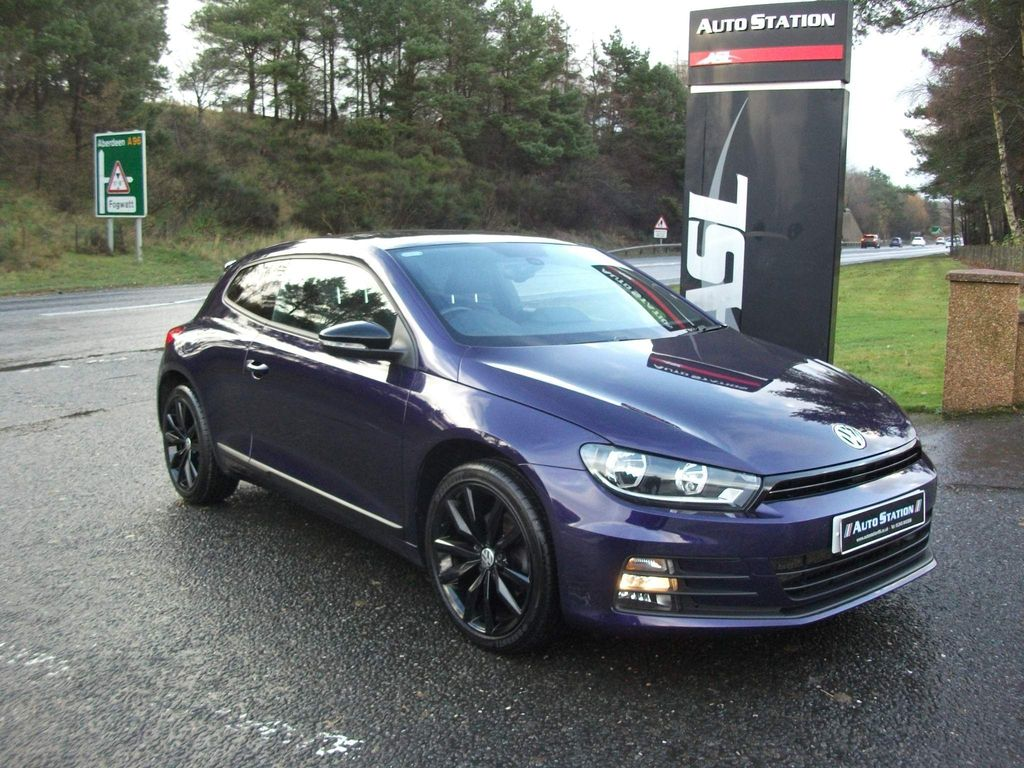 Volkswagen Scirocco Coupe 2.0 TDI BlueMotion Tech GT Black Edition Hatchback 3dr