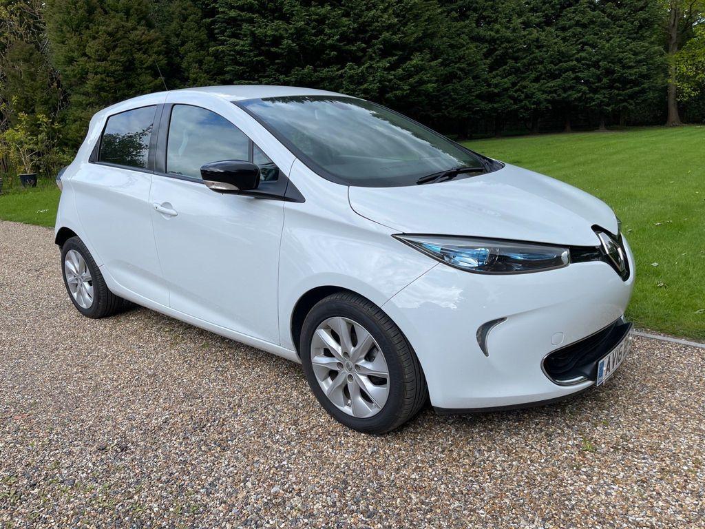 Renault Zoe Hatchback 22kWh Dynamique Nav Auto 5dr (Battery Lease)