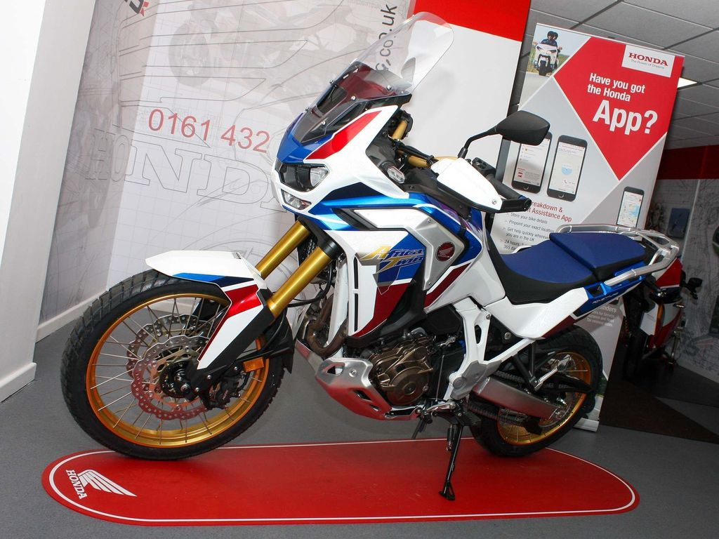 Honda CRF1100L Africa Twin Adventure Adventure Sports ABS DCT Pearl White