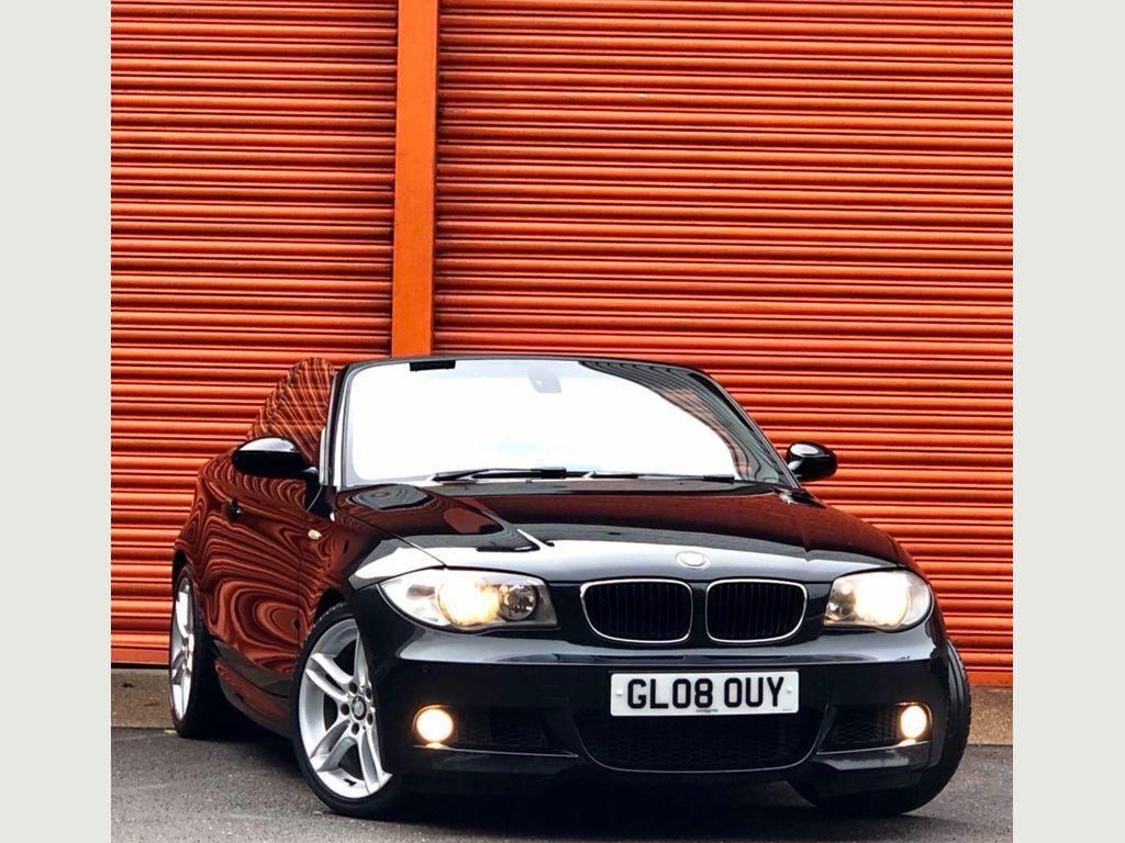 BMW 1 Series Convertible 2.0 120d M Sport Auto 2dr