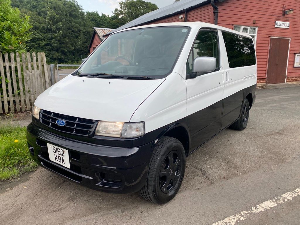 Ford Freda MPV Camper Van