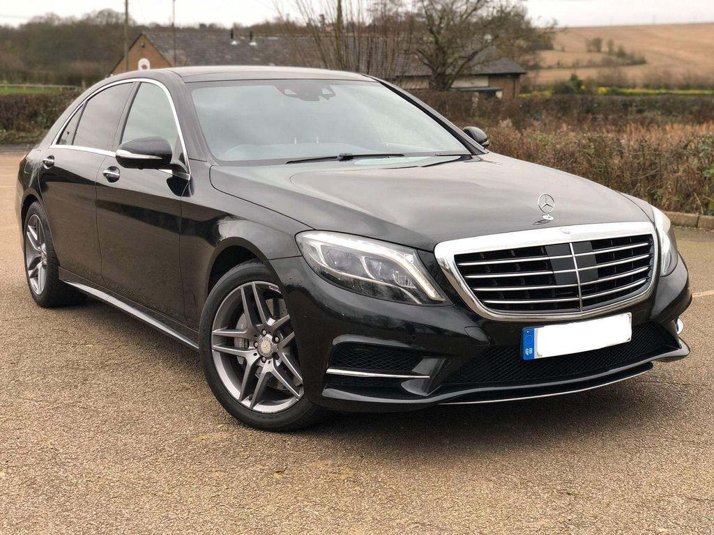 Mercedes-Benz S Class Saloon 3.0 S350d AMG Line L (Executive) 9G-Tronic (s/s) 4dr