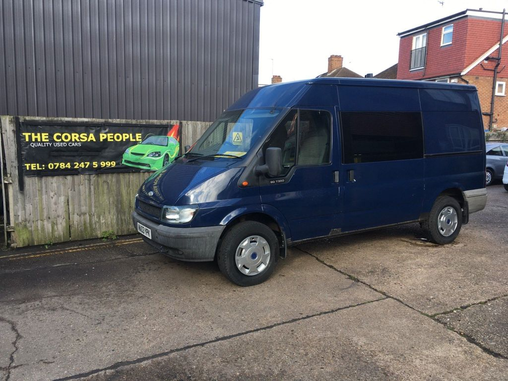 Ford Transit 2.4 DTI MWB Motor Home Van Conversion