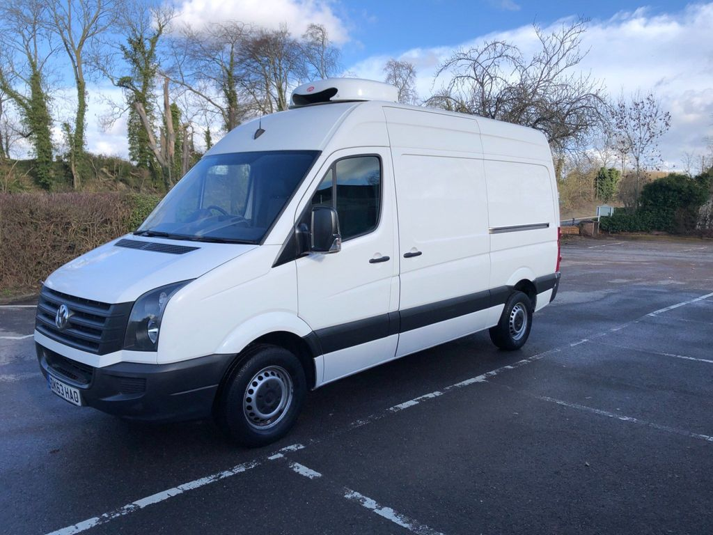 Volkswagen Crafter Temperature Controlled 2.0 Mwb High Roof Chiller Van / Standby