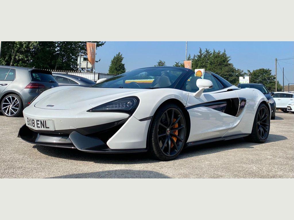 McLaren 570S Convertible 3.8T V8 Spider SSG (s/s) 2dr