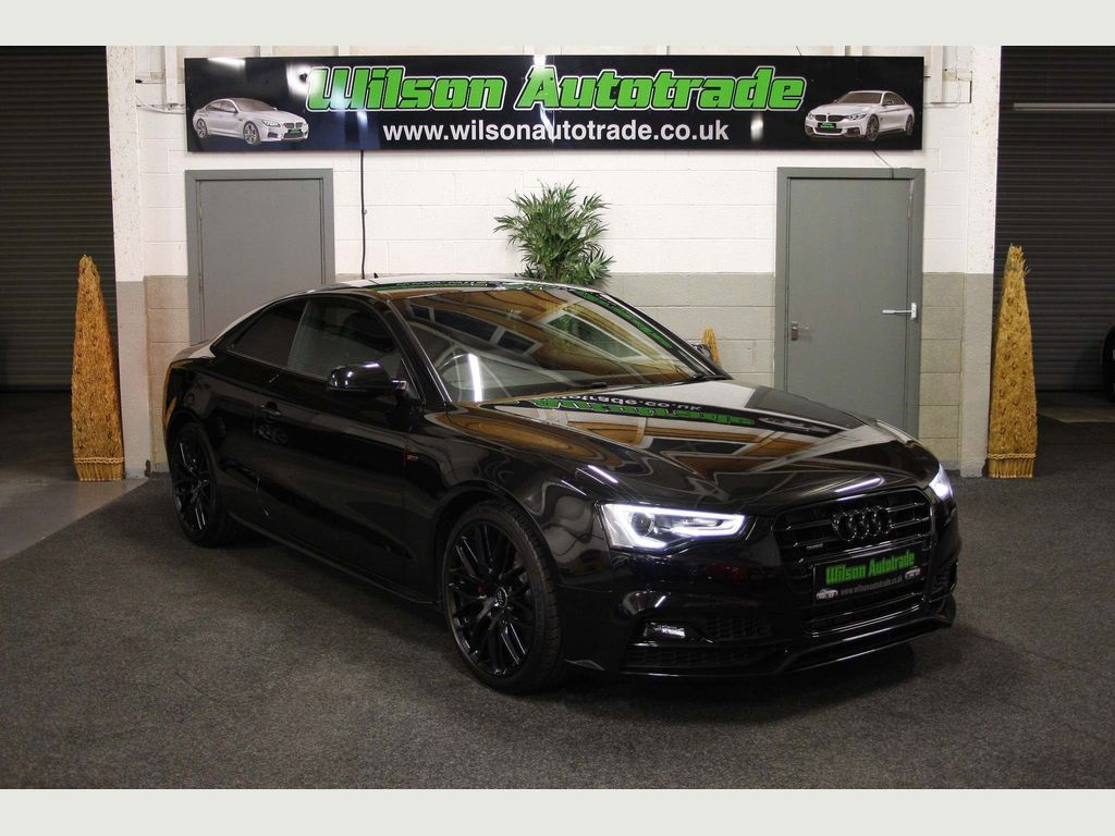 Audi A5 Coupe 3.0 TDI Black Edition Plus S Tronic quattro (s/s) 2dr