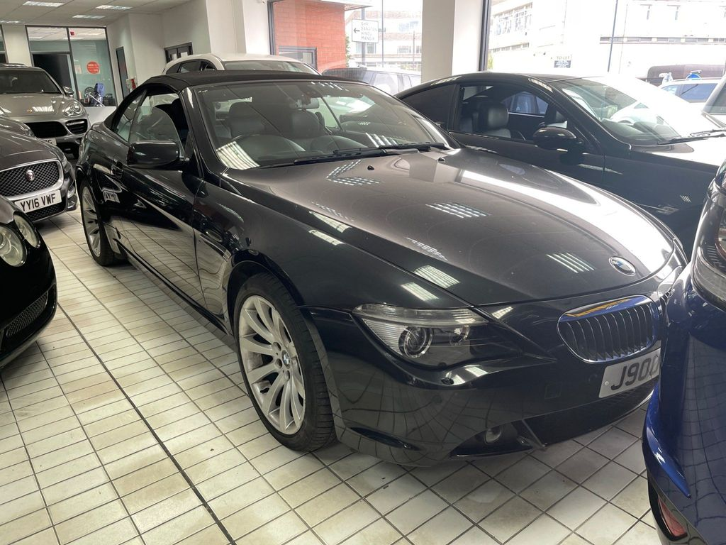 BMW 6 Series Convertible 4.8 650i V8 Sport 2dr