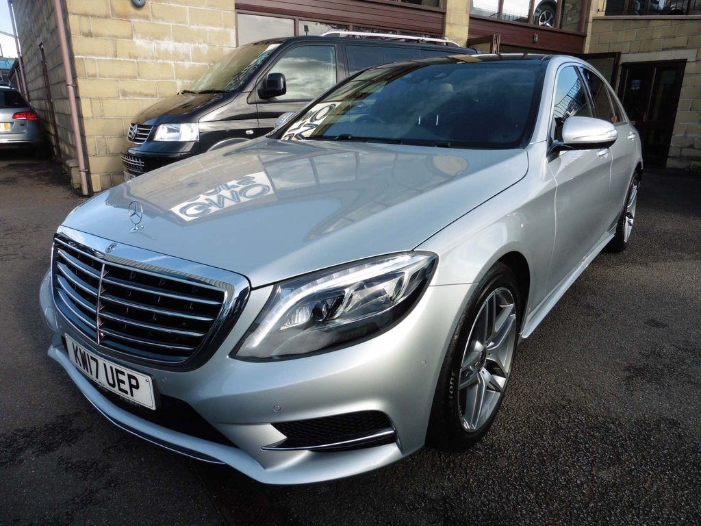 Mercedes-Benz S Class Saloon 3.0 S350d AMG Line (Executive) 9G-Tronic Plus 4dr