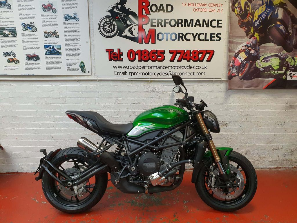 Benelli 752S Naked 750