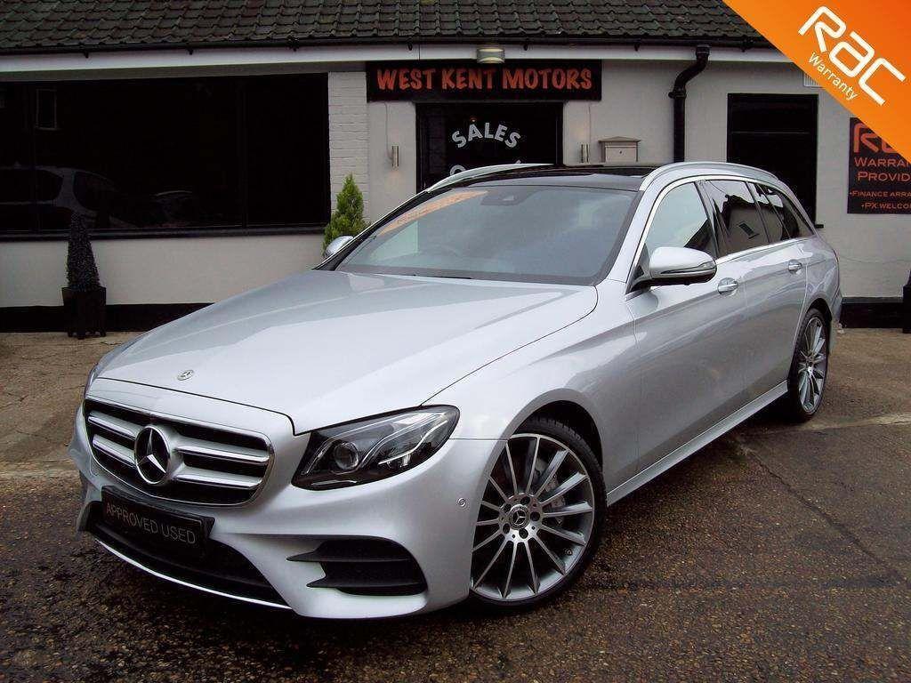Mercedes-Benz E Class Estate 3.0 E350d V6 AMG Line (Premium Plus) G-Tronic+ (s/s) 5dr