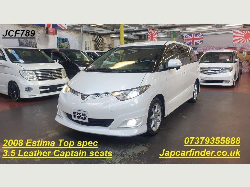 Toyota Estima MPV AERAS G PACKAGE LEATHER RECLINER SEATS