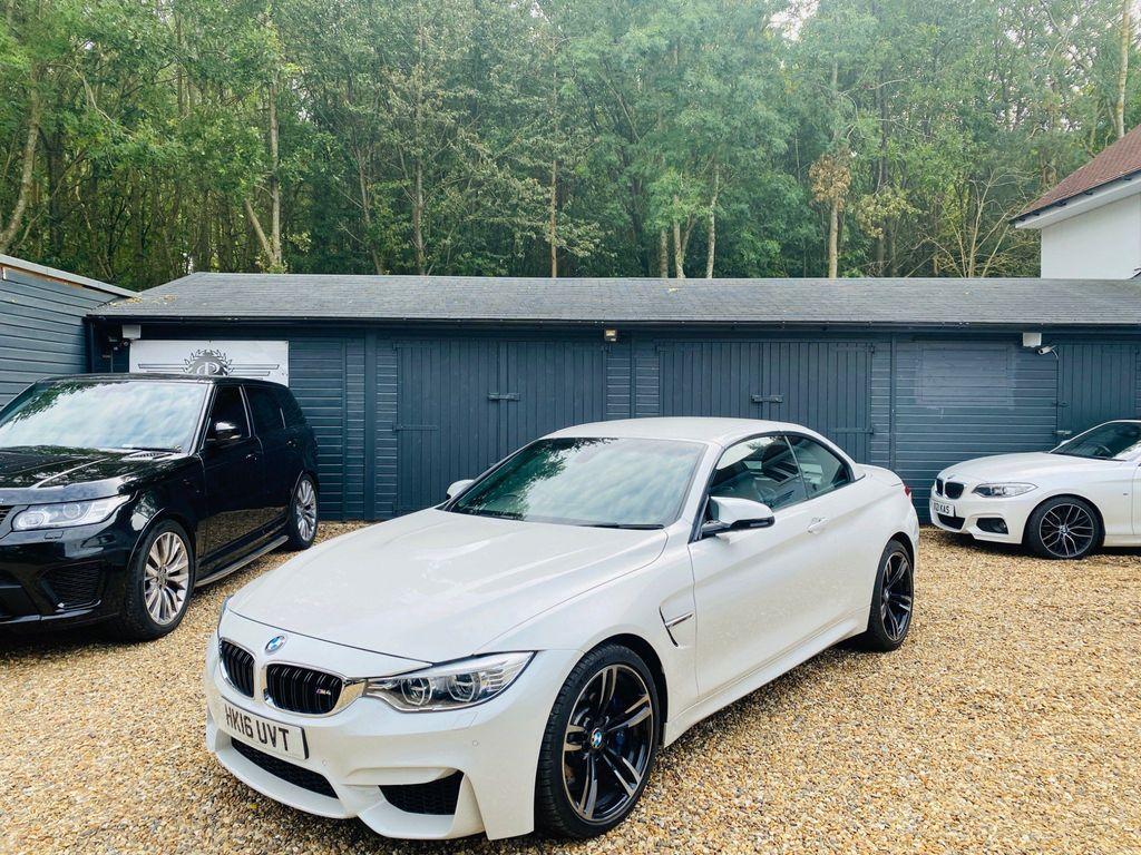 BMW M4 Convertible 3.0 M DCT 2dr