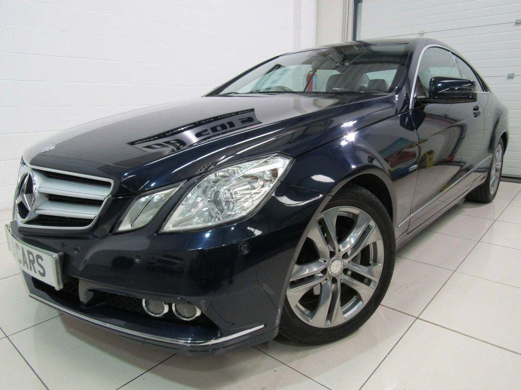Mercedes-Benz E Class Coupe 2.1 E220 CDI BlueEFFICIENCY SE Edition 125 7G-Tronic Plus (s/s) 2dr