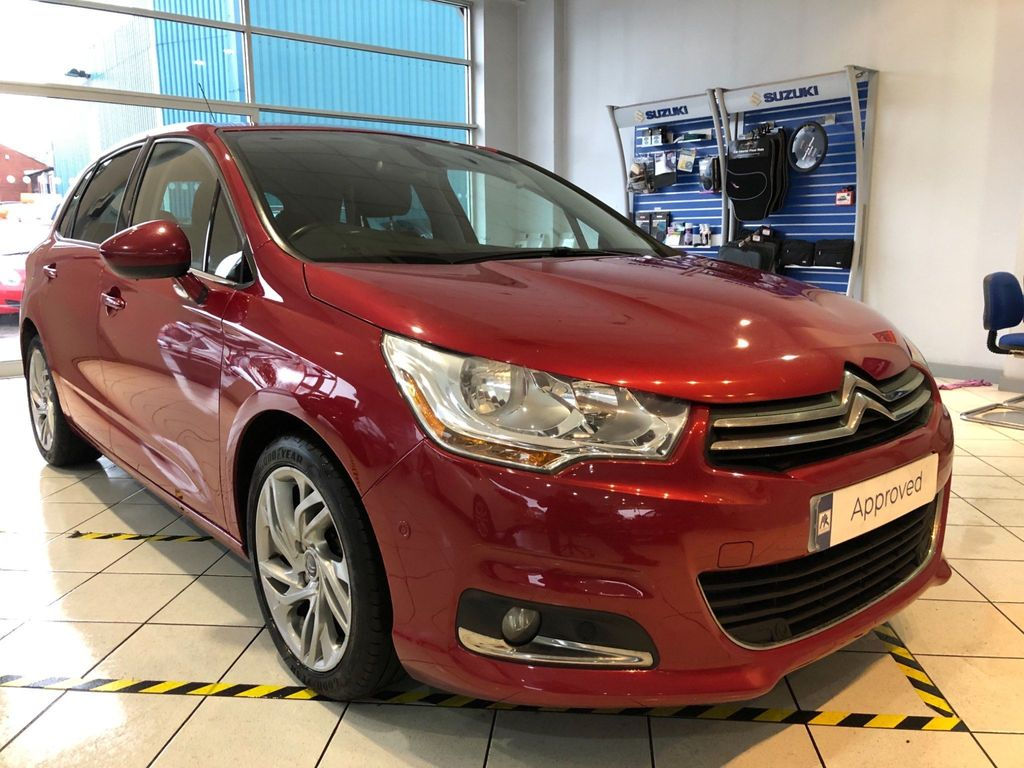 Citroen C4 Hatchback 1.6 e-HDi Airdream Exclusive EGS6 5dr