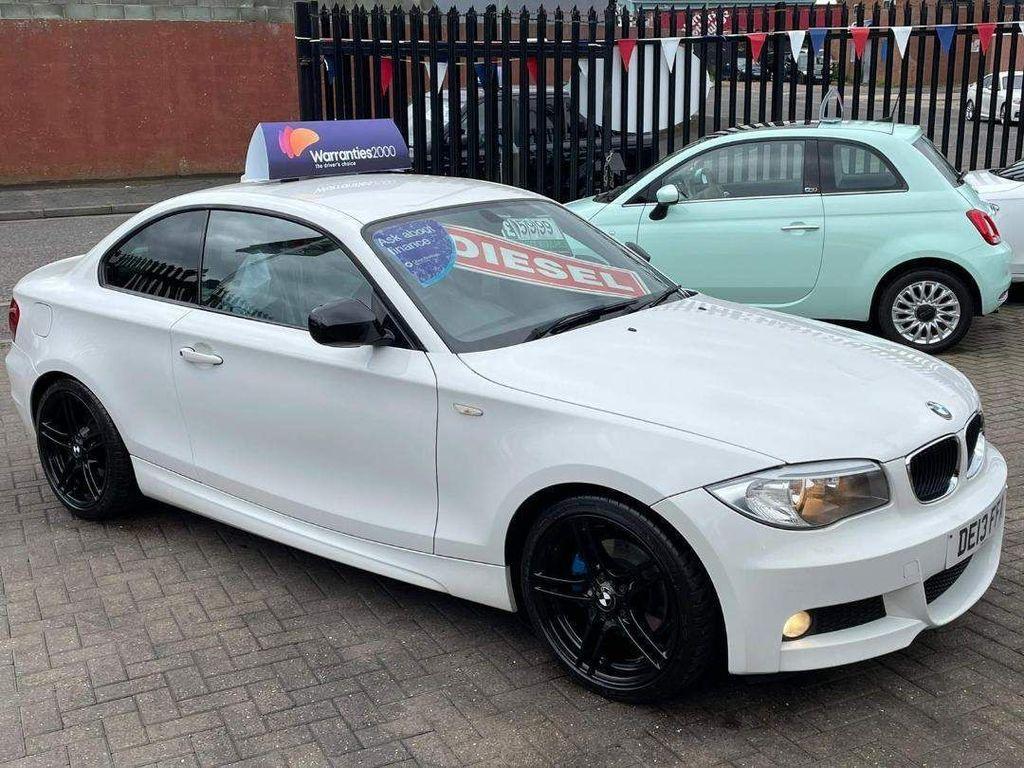 BMW 1 Series Coupe 2.0 120d Sport Plus Edition 2dr