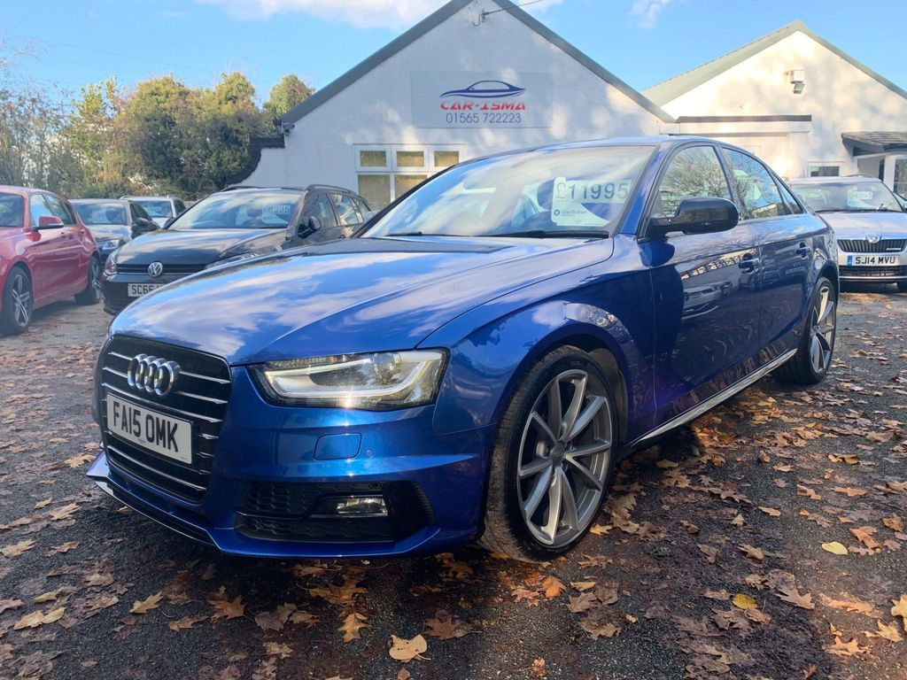 Audi A4 Saloon 2.0 TDI Black Edition Multitronic 4dr (Nav)