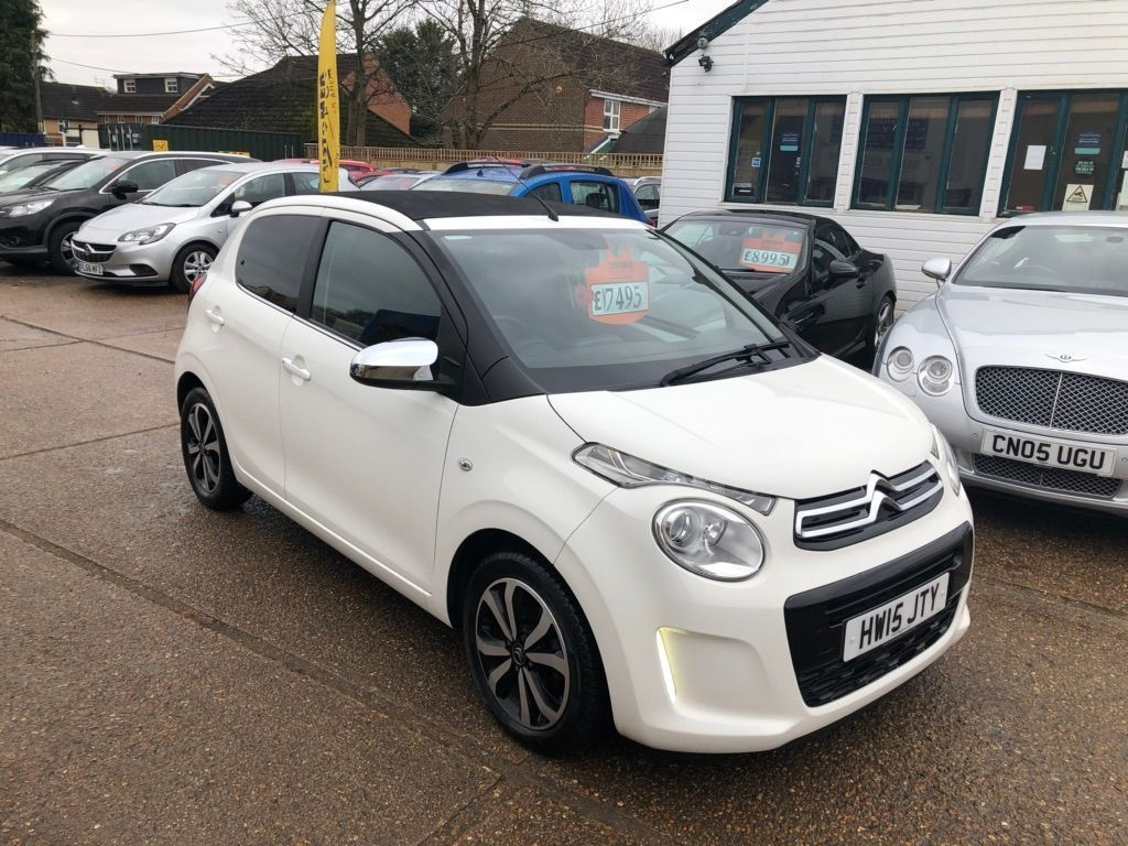 Citroen C1 Convertible 1.0 VTi Flair Airscape ETG5 5dr (EU6)