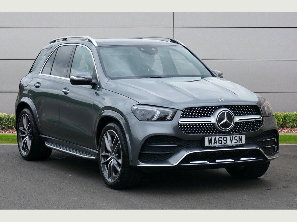 Mercedes-Benz GLE Class SUV 3.0 GLE450 EQ Boost AMG Line (Premium Plus) G-Tronic 4MATIC (s/s) 5dr (7 Seat)