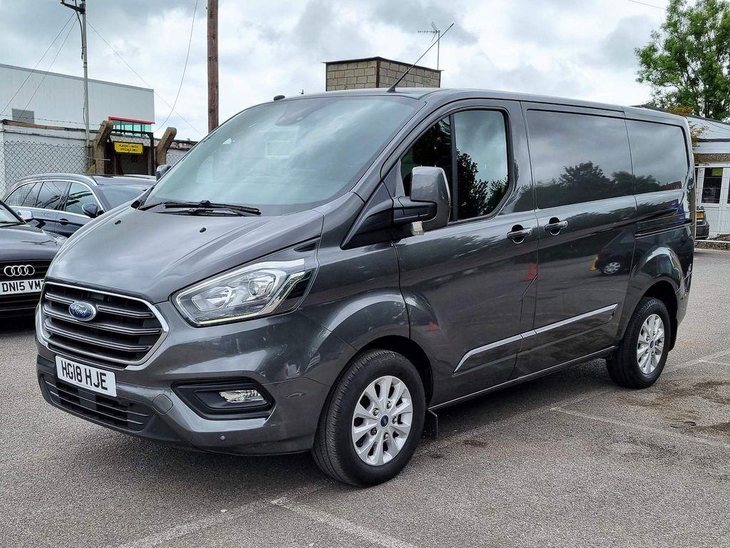Ford Transit Custom Panel Van 2.0 280 EcoBlue Limited L1 H1 EU6 5dr