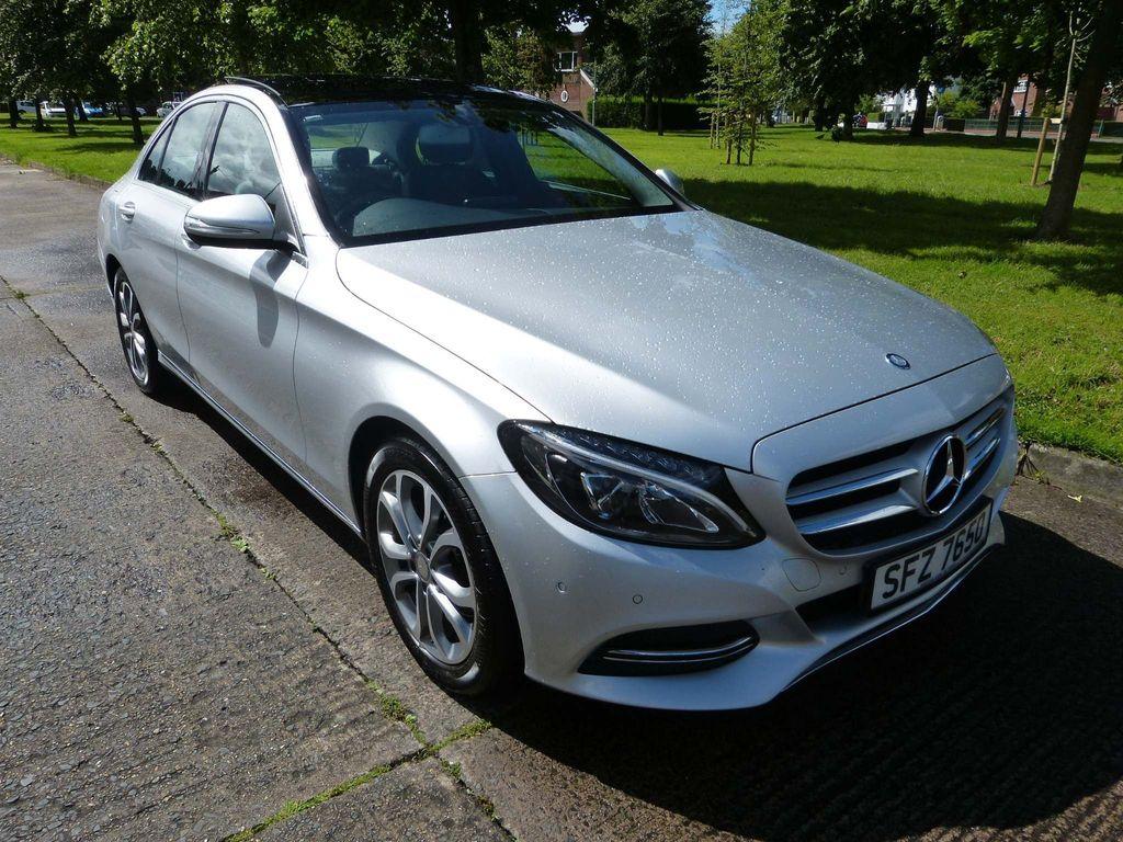 Mercedes-Benz C Class Saloon 2.1 C220 CDI BlueTEC Sport (s/s) 4dr
