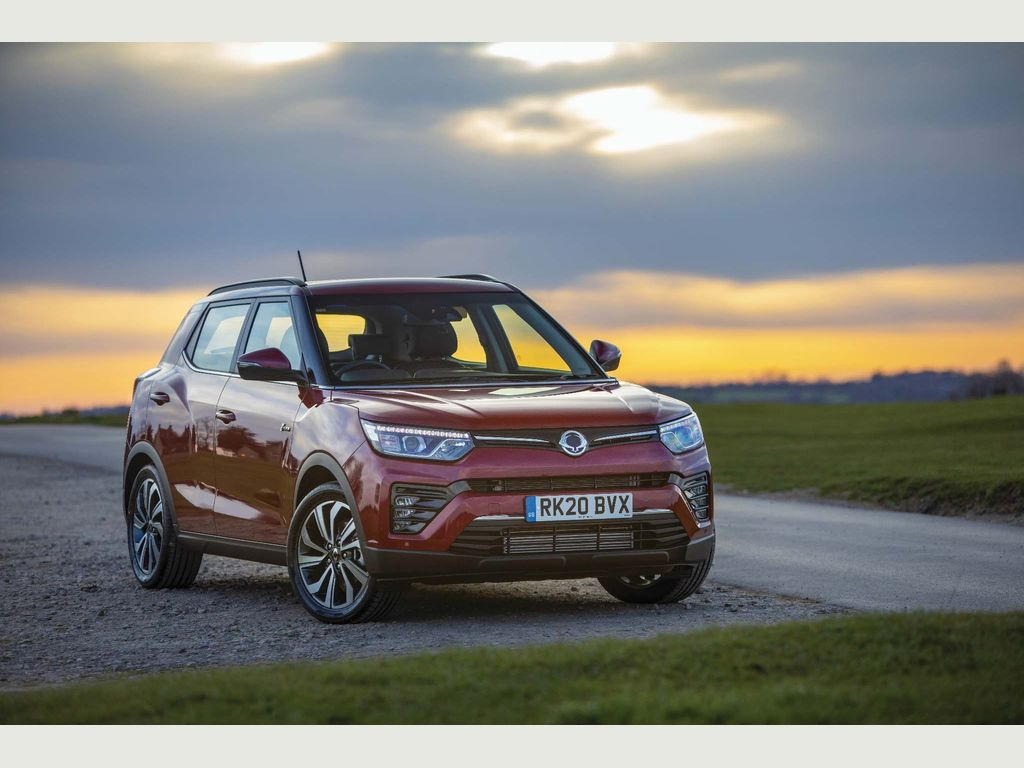 SsangYong Tivoli SUV 1.6D Ultimate Auto 5dr