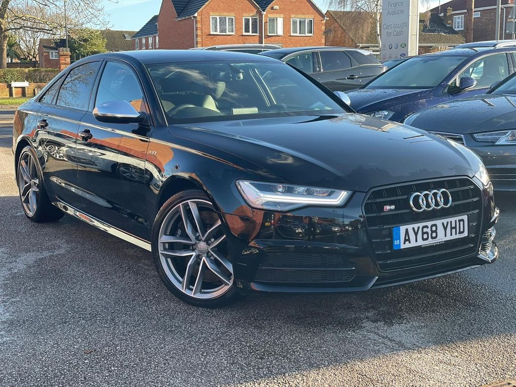Audi S6 Saloon Saloon 4.0 TFSI V8 Black Edition S Tronic quattro (s/s) 4dr