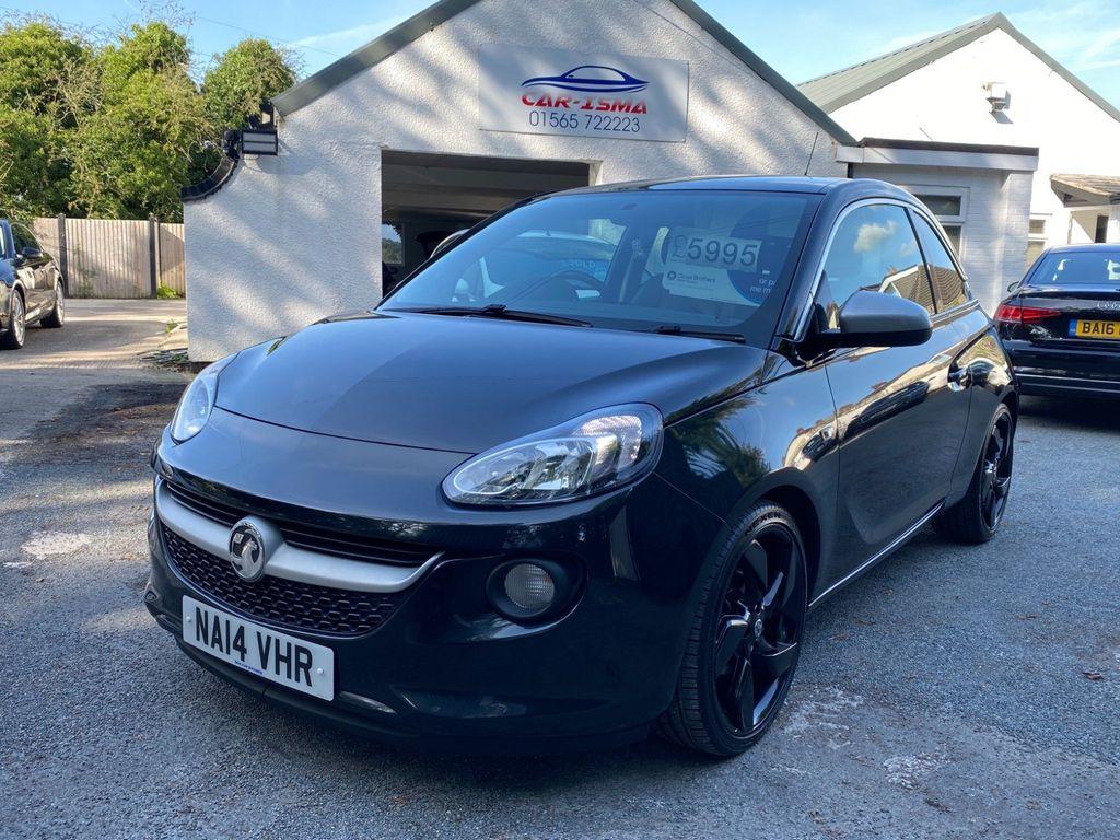 Vauxhall ADAM Hatchback 1.4 16v Black Edition 3dr