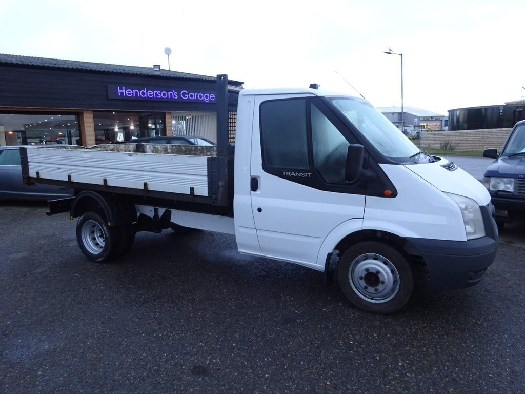 Ford Transit Tipper 2.4 TDCi 350 Duratorq Chassis Cab M 2dr (DRW, MWB)