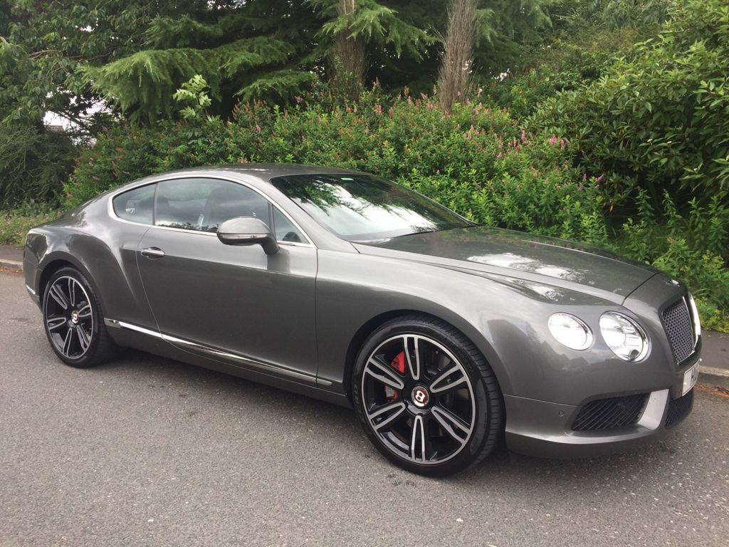 BENTLEY CONTINENTAL Coupe 4.0 V8 GT Auto 4WD 2dr (EU5)