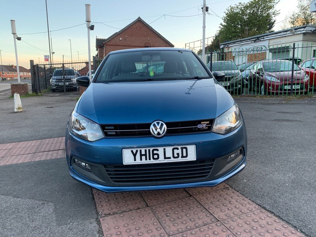 Volkswagen Polo Hatchback 1.4 TSI ACT BlueMotion Tech BlueGT (s/s) 5dr