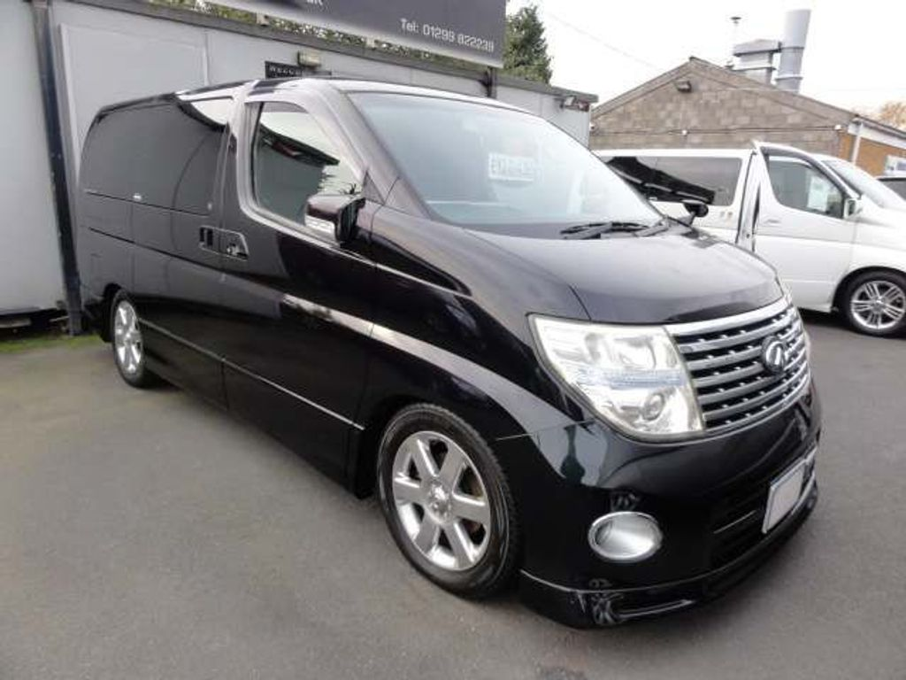 Nissan Elgrand MPV HIGHWAY STAR 45000 MILES CERTIFIED