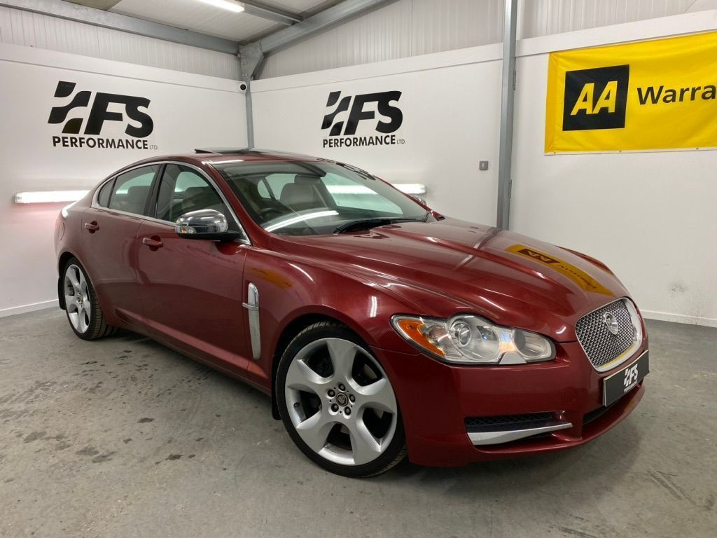 Jaguar XF Saloon 4.2 V8 Supercharged SV8 4dr