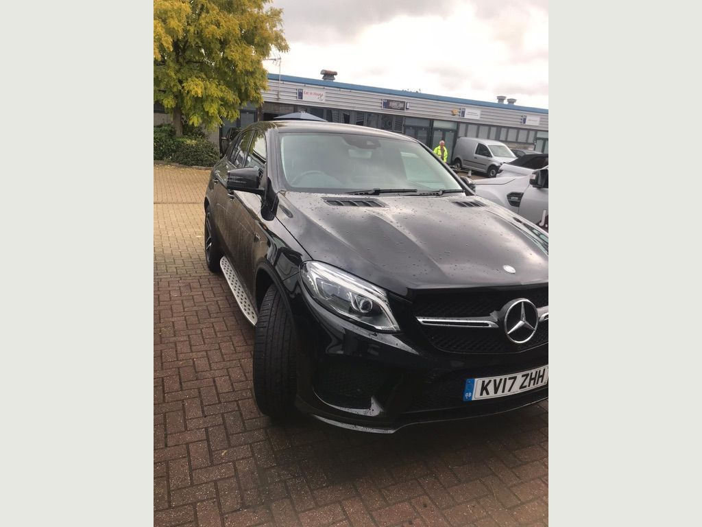 MERCEDES-BENZ GLE CLASS Coupe 3.0 GLE43 V6 AMG (Premium) G-Tronic 4MATIC (s/s) 5dr