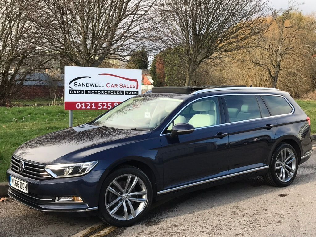 Volkswagen Passat Estate 1.6 TDI BlueMotion Tech GT (s/s) 5dr