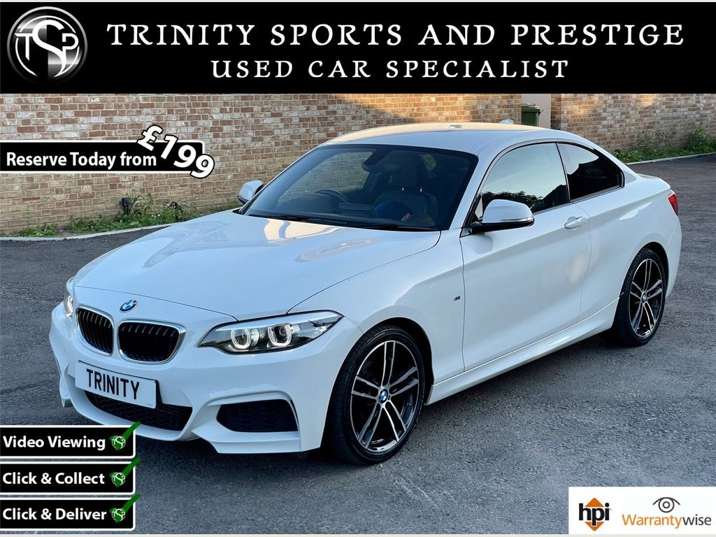 BMW 2 Series Coupe 1.5 218i GPF M Sport (s/s) 2dr