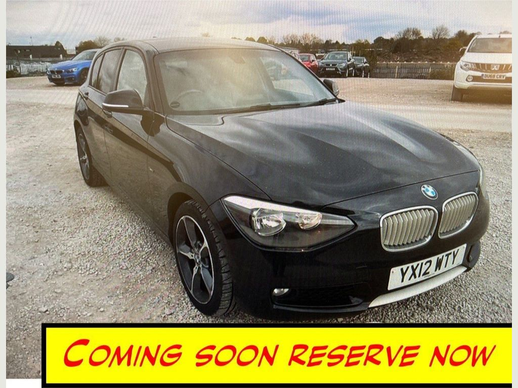 BMW 1 Series Hatchback 2.0 118d Urban 5dr