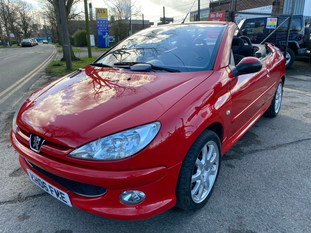 Peugeot 206 CC Convertible 1.6 HDi Sport 2dr