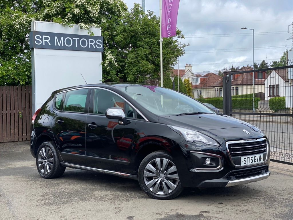Used Peugeot 3008 Suv 1 6 Hdi Active 5dr In Glasgow Glasgow City Sr Motor Company Limited