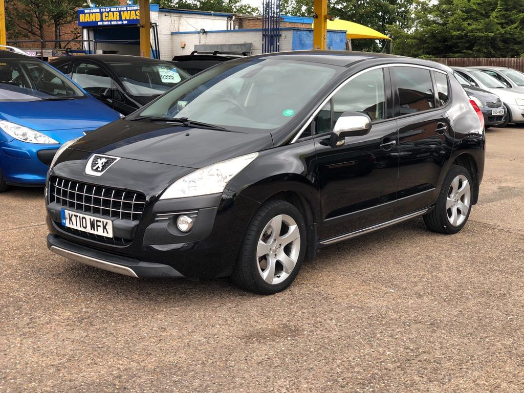 Peugeot 3008 SUV 2.0 HDi Exclusive 5dr