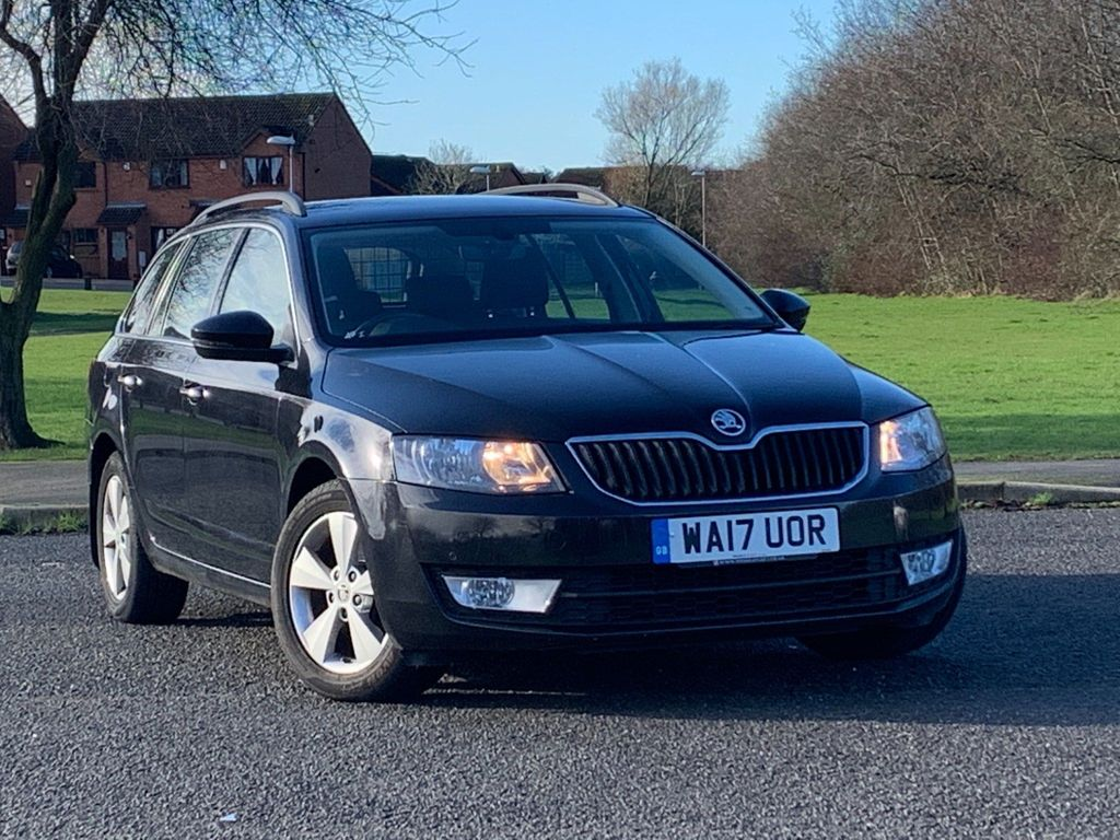 SKODA Octavia Estate 1.6 TDI GreenLine III SE Technology 5dr