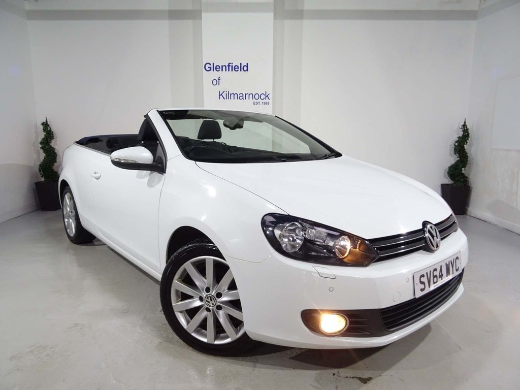 Volkswagen Golf Convertible 1.6 TDI BlueMotion Tech SE BlueMotion Cabriolet 2dr